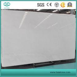 壁のフロアーリングのための高貴で白い大理石またはSicuanの白い大理石または彫像用の白くか白い大理石