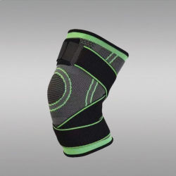 調節可能な紐で縛ることの圧縮の靭帯のニーブレース