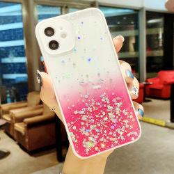 Semi,Groothandel Glitter Telefoonhoes met beugel,Anti-Scratch Shock Absorption,6 Kleur,mobiele telefoon Hoes voor iPhone-hoes 11/12/13/XS/xr/PRO/PRO Max/Plus/Mini,Cell