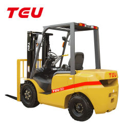China TEU Automatic 3t Hydraulic Diesel ForkLift