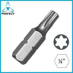 25mm 1/4 Zoll importiertes materielles Torx Bit des Schraubenzieher-S2