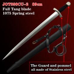 Espadas Medieval com espada artesanais 89cm098Jot cu-2