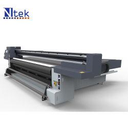 Ntek híbrido UV Impresora Digital de lienzo de la máquina de impresión