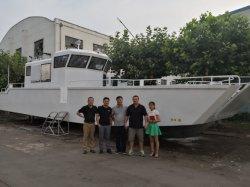 Alliage de 16m de péniches de débarquement pour le transport de fret en aluminium de transport de l'île de péniches de débarquement pour la vente