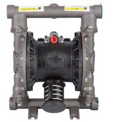 Pompa pneumatica a membrana in alluminio per il trasferimento di fluidi a tamburo