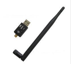 وحدة حماية USB WiFi صغيرة 802.11n لاسلكية 300 م 2.4G مع وحدة خارجية الهوائي