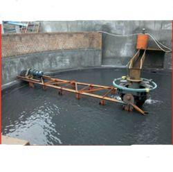 La papilla de minería de datos del depósito de la concentración de la arena de sílice