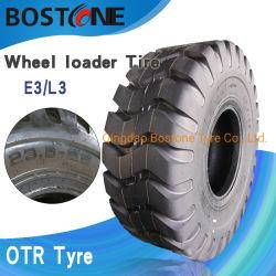 Китай промышленные колесного погрузчика смещения шины 23.5-25 радиальные шины OTR толщине всего 23,5 R25 напрямик шины для движения по дороге Скребок ролика