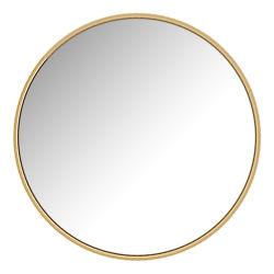 Золото черный железный рамы европейского отеля оформлены на стене ванной комнаты зеркала заднего вида
