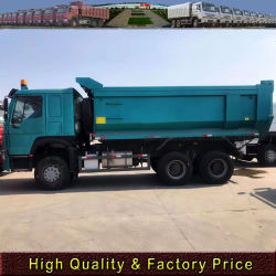 شاحنة تفريغ Sinotruk HOWO 336/371HP 6X4 ذات الخدمة الشاقة