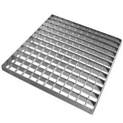 Parking galvanisé barre en acier doux de grille