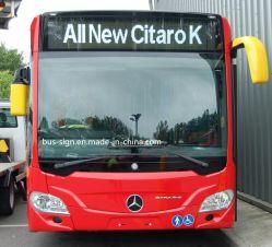 P0810 finestra (anteriore/posteriore) del bus LED del segno mobile programmabile del messaggio