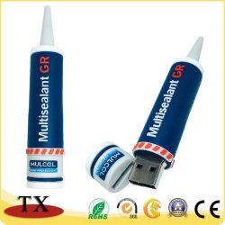 Пвх 3D USB флэш-диск USB для подарков