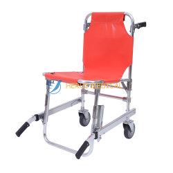 병원 비상사태 휴대용 올리는 알루미늄 층계 의자 들것