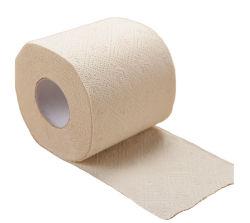 Rullo amichevole di bambù personalizzato non candeggiato della carta igienica di Eco della carta igienica