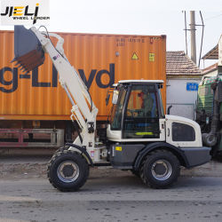 La CE aprueba nuevas pequeñas 1.5t cargadora de ruedas cargadora frontal para la venta