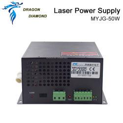 40W 50W fuente de láser de CO2 máquina láser Repuesto