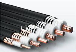 7/8 pulgadas Cable alimentador Helix Tubo de cobre del cable coaxial RF para el sistema de comunicaciones móviles inalámbricos