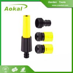 Boquilla espiral rotatoria plástica determinada de la boquilla del manguito de jardín para las herramientas de la agricultura