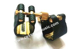 Saxofone coletora e ligadura de couro/ PAC / bocal / Acessórios musicais