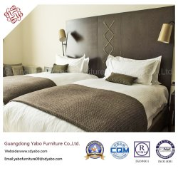 Chinesische Foshan-Handelskettenhotel-Möbel für Standarddoppelschlafzimmer-Set (YB-G-8)