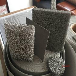 El silenciamiento de los materiales de construcción, materiales de decoración de hierro de níquel de espuma