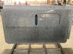 Padang gris clair/gris argenté de dalles de comptoir de granit