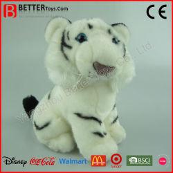 ASTM a medida de los animales de peluche Tigre Blanco Toy