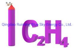 エチレンのガス、C2h4