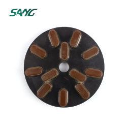 Les abrasifs de granit blanc noir Buff (SA-086)