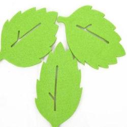 Tabela de diagrama de tapetes feitos à mão as esferas de feltro sentida Coasters