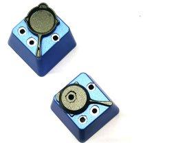 La aleación de aluminio Full Metal Dazzle Botones de colores para el uso de los amantes del juego