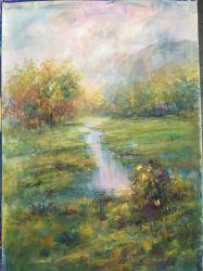 壁の装飾のための元の水彩画の油絵