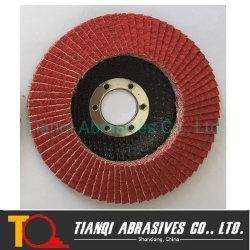 Disque à meuler à polir pour disque en métal et à lamelles acier inoxydable T27&T29 115 mm, 125 mm, 180 mm-Grit 40, Grit60, Grit80-120
