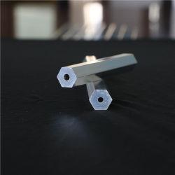 Perfil de fábrica na China Ronda de extrusão de alumínio/Square/Tubo extrudido/Tubo Oval/Tubulação/Tubo