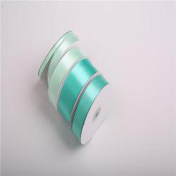 25 mm don fleur ruban ruban de soie couleur Échantillon gratuit Décoration de Noël de gros Bow ruban pour vêtements /robe