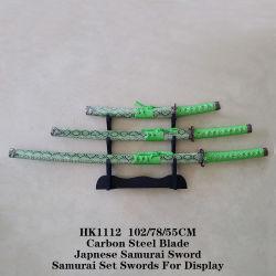Venda por grosso de espadas Samurai japonês 102/78/55cm HK1112