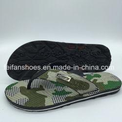 Sandali casuali degli uomini di Hotsale della spiaggia di vibrazione di cadute dei pistoni poco costosi del PVC (FCL898+12)