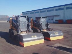 Le HCN marque 0202 Pick-up Sweeper Balayeuse balai pour toutes les marques et le chargeur chargeur Skid Steer, balayage des rues de la machine avec de bons prix de vente