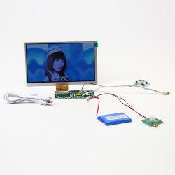 40 pins LCD TFT 7pulgadas de pantalla con resolución de 800*480 Un rendimiento superior