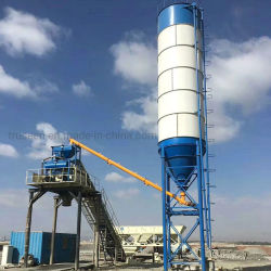 Niedriger Hzs25-Hzs75 Betriebskosten-Zufuhrbehälter-Typ RMC-elektrische konkrete Mischanlage