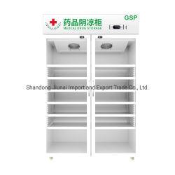 0~8 Grad doppelte Glastür-Kühl-Maschinen-für medizinische Apotheke