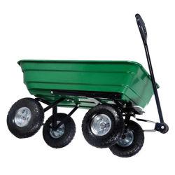 Quatro Rodas Prático Carrinho de ferramentas de jardim5071 Qt com bandeja de plástico