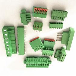 3.96mm Abstand3 Pin gerader Schaltkarte-Schrauben-Klemmenleiste-Verbinder