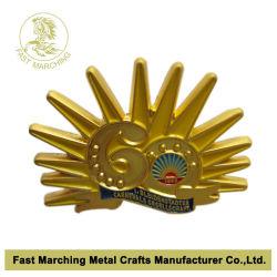 Custom автоматически выгравированными Scout табличке школы металлический штырь эмблемы