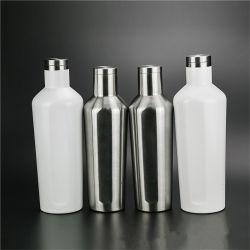 750ml Portable tasse tasse de voyage à double paroi en verre de vin isotherme en acier inoxydable Tumbler ballon