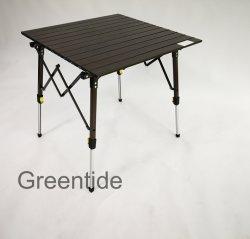 Portátil de aleación de aluminio Camping mesa plegable mobiliario exterior CS405