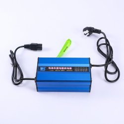 도매 48V 5A 전기 재충전 전지 충전기