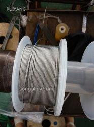 7*7 DIN3055 La corde de fils en acier inoxydable
