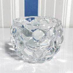 絶妙なカスタムサイズのクリスタルグラスのつぼおよび蝋燭Holer